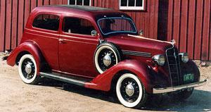 Amerikaanse auto: Plymouth uit 1935
