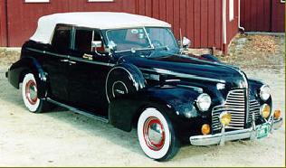 Amerikaanse auto: Buick uit 1940