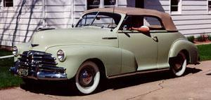 Amerikaanse auto: Chevrolet Fleetmaster uit 1948