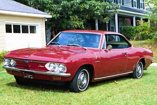Chevy Corvair Corsa uit 1966