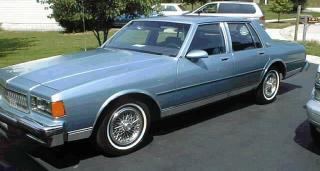 Amerikaanse auto: Chevy Caprice Classic uit 1986