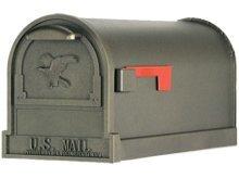 Arlington brievenbus brons