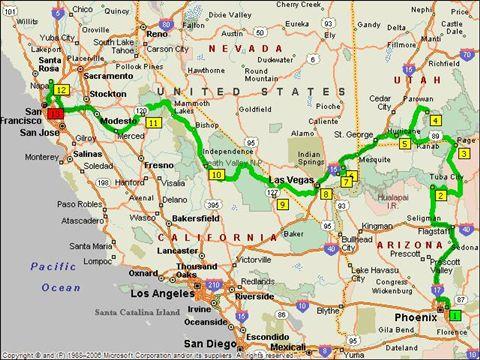 Rondreis beginnend in Arizona