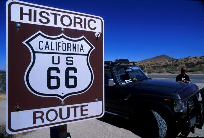 Route 66 in Californië
