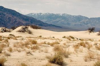 Death Valley in Californië