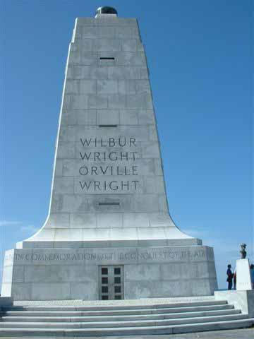 Wright Memorial in North Carolina