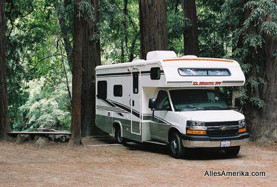 C-class camper