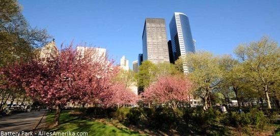 Battery Park uitzicht