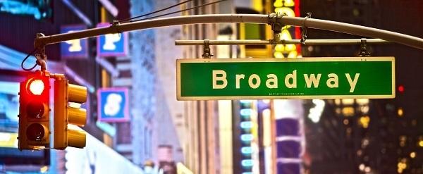 Broadway en Times Square
