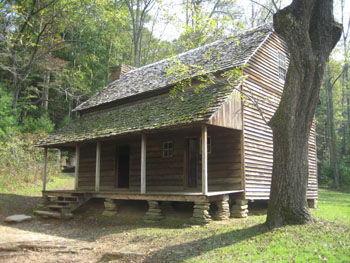 Huis in Cades Cove