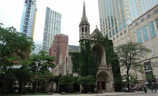Historisch en nieuw naast elkaar in Chicago