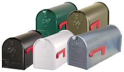 De klassieke US mailbox