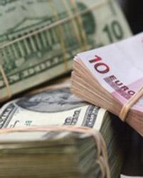 Dollars en euro's
