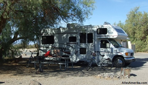 Furnace Creek camping