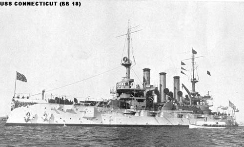 Schi[ van de Great White Fleet