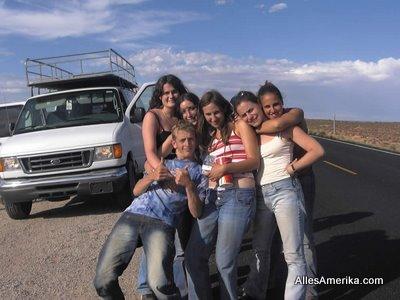Foto van een groepsreis in Amerika