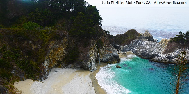 Julia Pfeiffer State Park in California