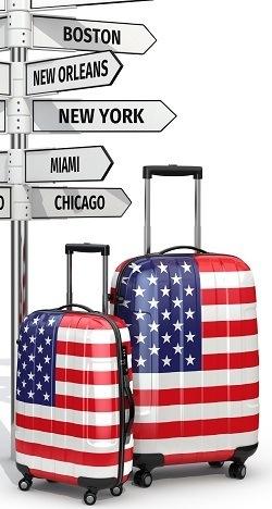 Koffers Amerika
