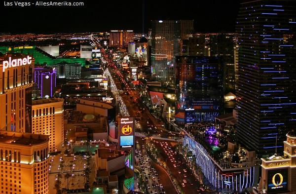 Skyline van Las Vegas, Nevada