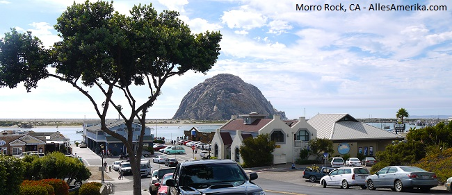 Morro Rock in California