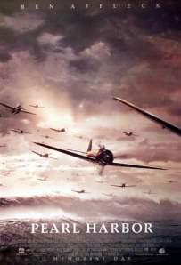 Filmposter van de Pearl Harbor film