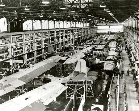 Philadelphia in de Tweede Wereldoorlog - oorlogsproductie