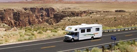 Amerika met de camper for Motor home rental usa