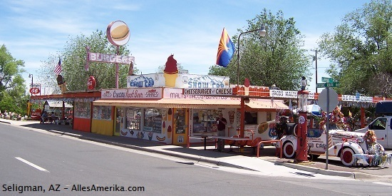 Seligman, Arizona, Route 66
