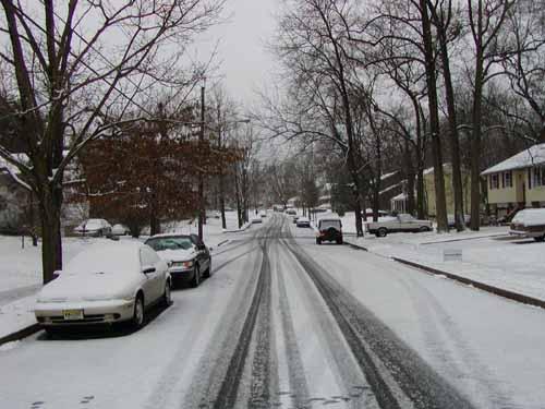 Sneeuw in New Jersey