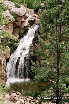 Jemez Falls in New Mexico
