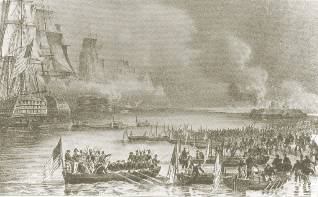 De Amerikanen belegeren Vera Cruz (1847)