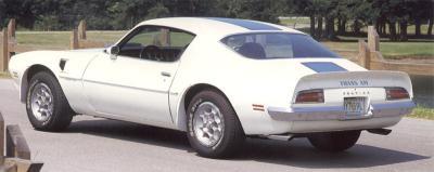 Amerikaanse auto: Pontiac Firebird Trans Am uit 1970