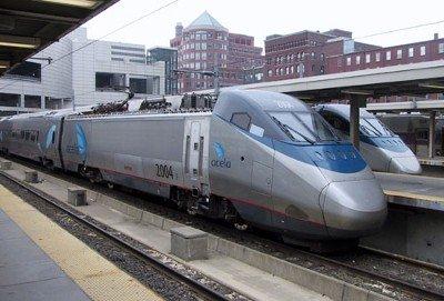 Acela-trein in de Verenigde Staten van Amerika