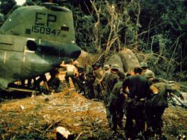 Evacuatie van troepen tijdens de Vietnamoorlog