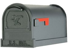 Arlington brievenbus zwart
