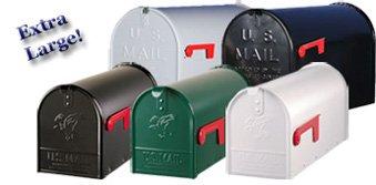 De extra grote US mailbox
