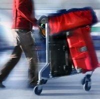 Bagage voor het vliegtuig