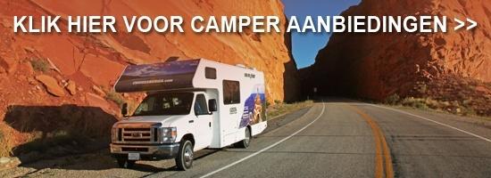 Camper of RV in de Verenigde Staten van Amerika