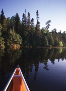 Met de kano door de wildernis