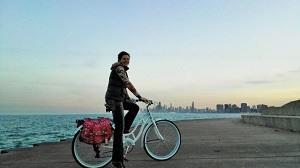 Chicago per fiets