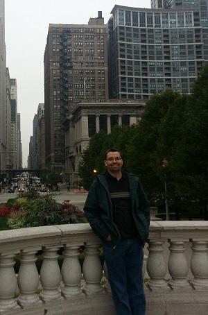 Yep, ik heb het naar mijn zin in Chicago