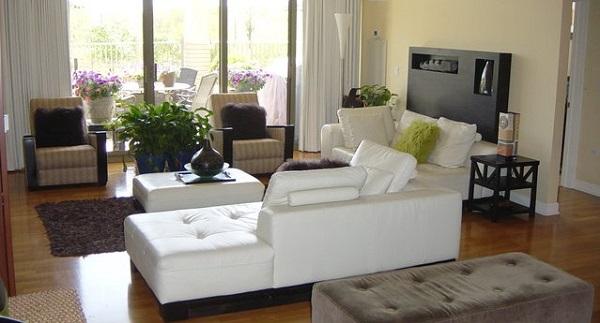 Donna's prachtig mooie woonkamer