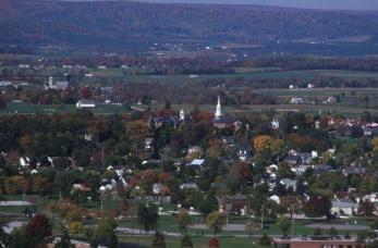 Gettysburg, waar de ommekeer in de Amerikaanse Burgeroorlog plaatshad