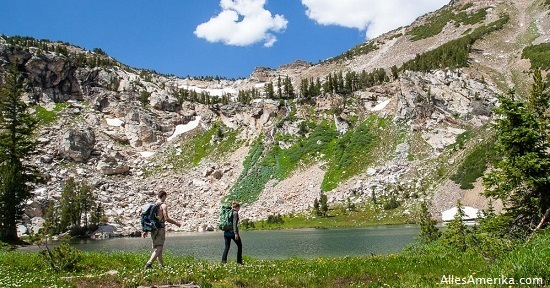 Wandelen in Grand Teton
