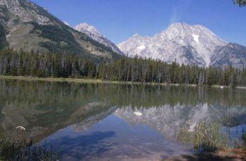 Prachtig vergezicht in Grand Teton NP in Wyoming