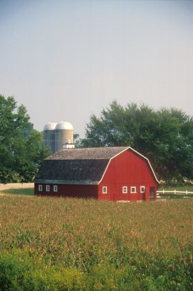 Schuur in Illinois