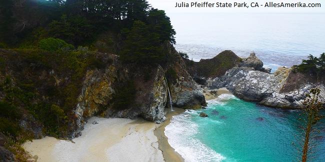 Julia Pfeiffer State Park in California