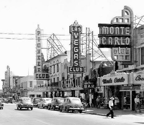Las Vegas rond 1940