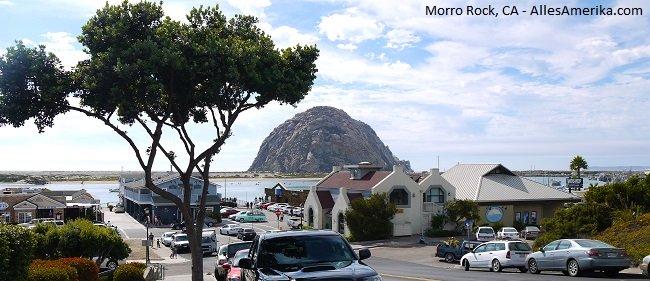 Morro Rock in California