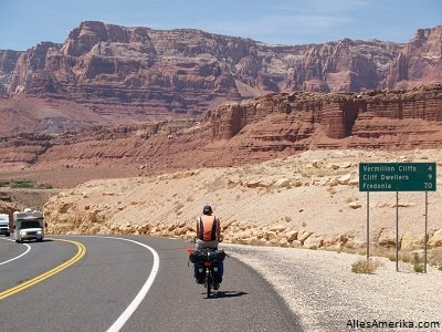 Naar Marble Canyon